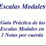 Guía práctica de las escalas modales